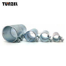 Pipe fitting galvanized steel 4 inch set screw emt coupling for conduit