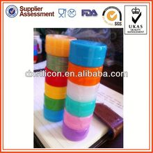 customized small 200g without air sealed jar for sticky wax product container storage