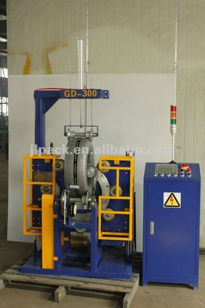 Agriculture or farming tire coil packing machine
