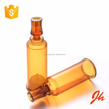 10ml amber empty airless cosmetic bottle packaging