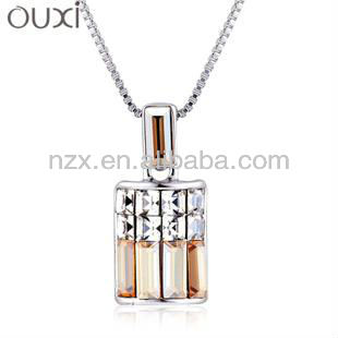 Hot sale fashion teen necklace jewelry with austrian crystal 10306