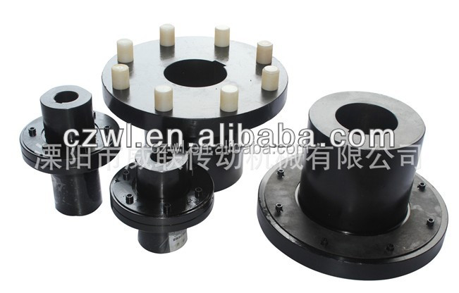 Flexible Adapter Coupling Fasteners spring pin and bush Shaft Flange Type Coupling HL