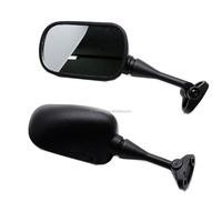 KC17MM11 Black ABS Motorcycle Motor Rear Side Rearview Rear View Mirror for 1999-2005 Honda CBR 600/F4/F4i 2000-2005 Honda RC51