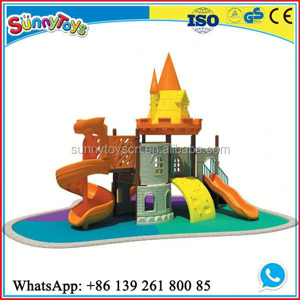 Children play house small outdoor children's garden safety equipment latest outdoor playground