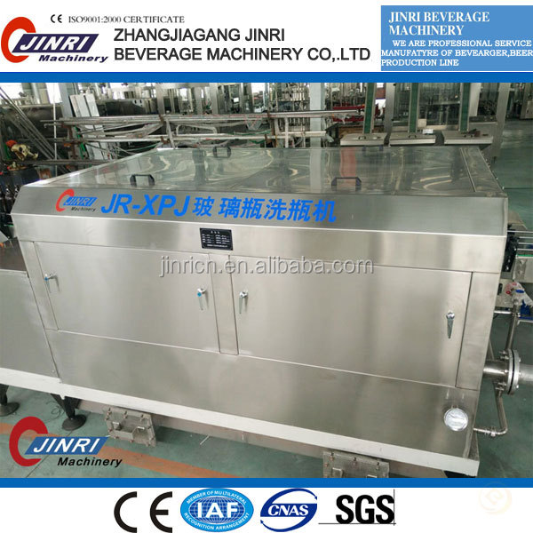 recycle glass bottle washing/washer/rinsing/rinser line