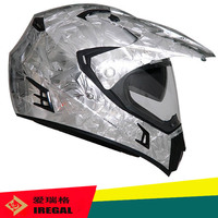 Hot sale motorcycle dual visor aluminum safety helmet