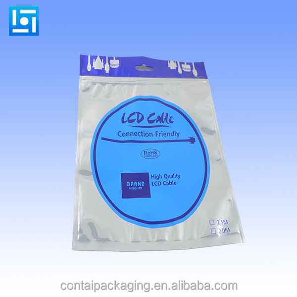 Australian Type Anti-static Aluminum Foil Plastic Poly Packaging Bag For LED Light
