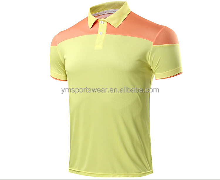 short sleeve cut and sew polo making into sublimation polo