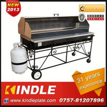Professional Custom 2014 Best durable one time use bbq grill