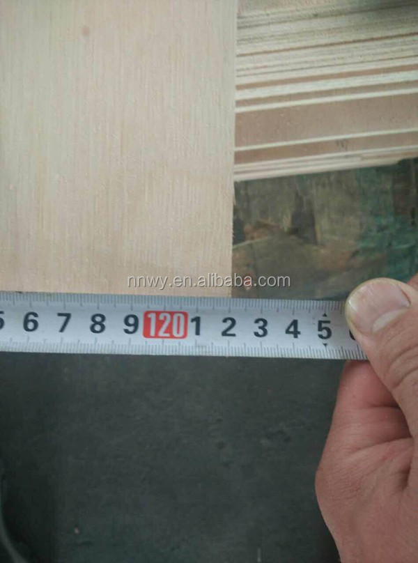 New natural wood veneer commercial plywood board for construction