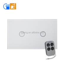 US/AU Wall Switch Light Touch Remote Switch JJ-USB-02
