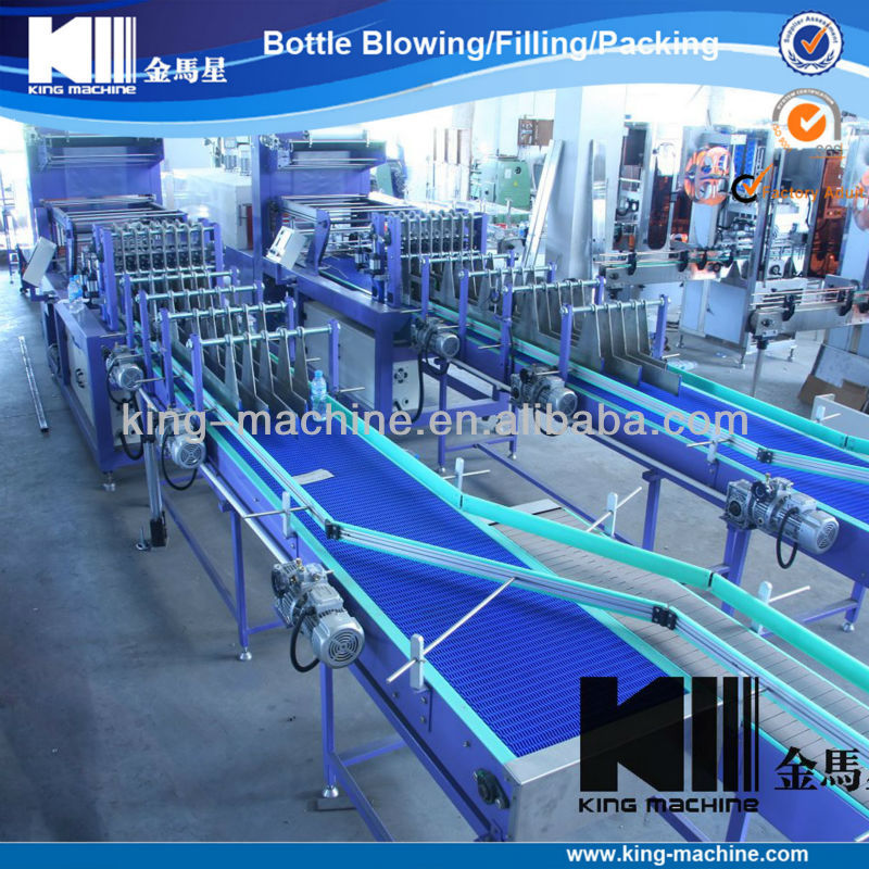 Small Bottle Shrink Wrapping Machine