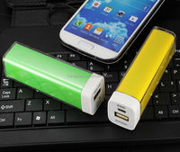 canadian distributors wanted lipstick travel charger 2200-2600mAh power bank for cellphone