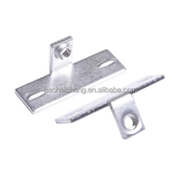 Air Conditioner Thermostat stainless steel 90 degree M4 welding bracket