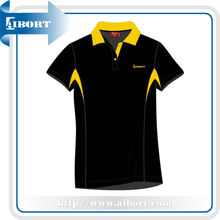 2013 style shirts ,Black and yellow polo shirts (SSI-5)