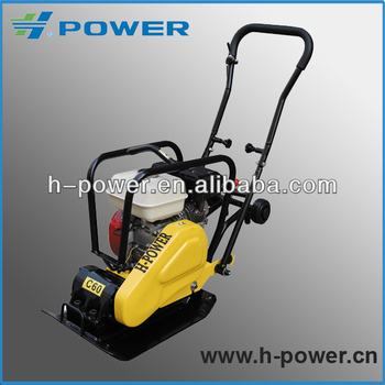 60kg Cast Iron Wacker Type Plate Compactor HP-C60H with Honda engine(CE, EPA, AVT)