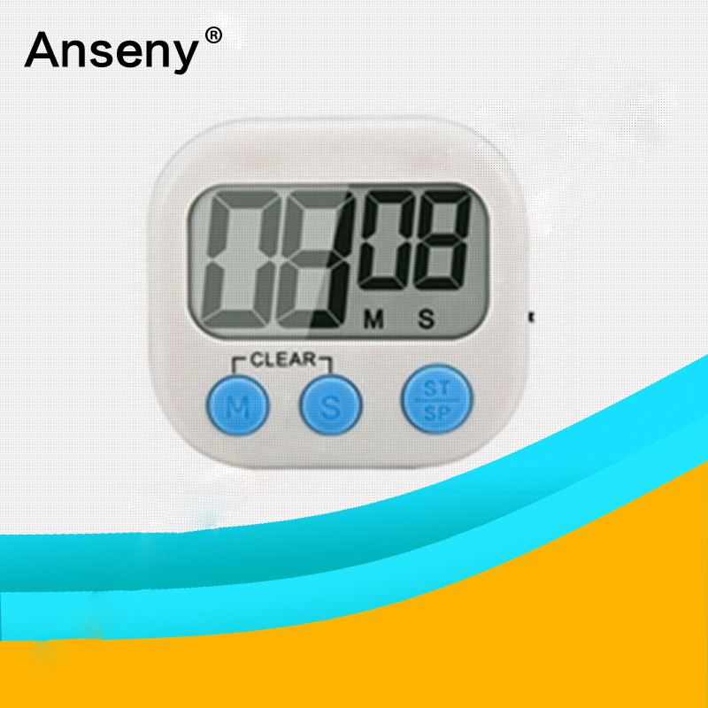 abs lcd digital kitchen countdown alarm timer/electronic Event Countdown Timer
