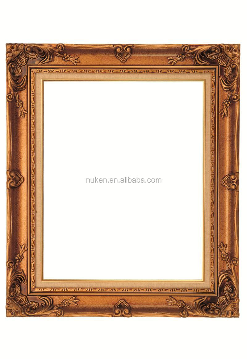Hot Sale Gold Earrings Or Spiced Rum Drinks Advertising Posters LED 3D Lenticulars Baroque Picture Frames