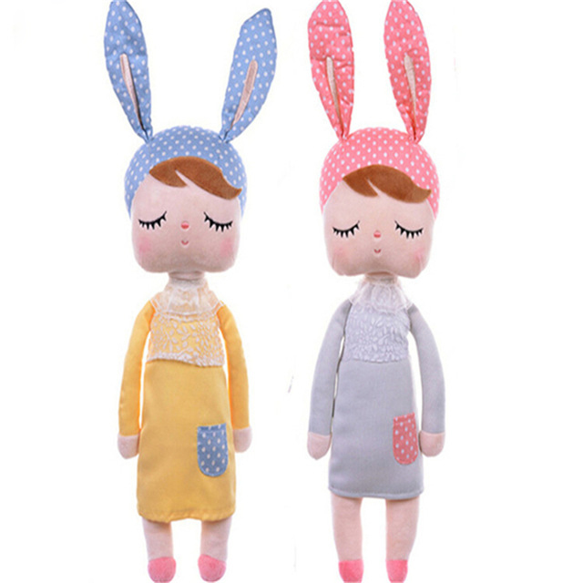 Cute Dolls Baby Bunny Plush Toys Stuffed Animals Panda Bee Dolls for Girls Baby Kids Toy