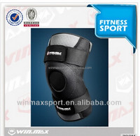 Hinged elastic breathable knee support as seen on tv