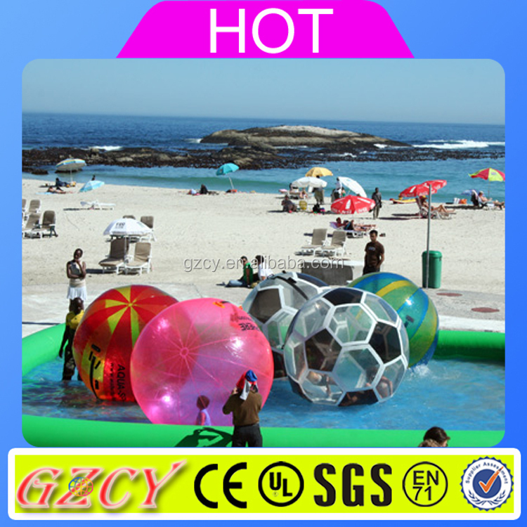 2016 Cheap giant ball inflatable water walking bouncer ball for sale