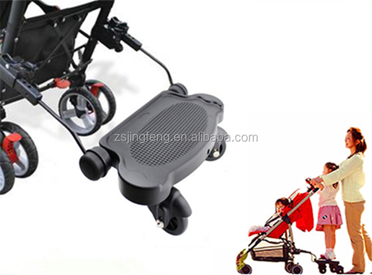 High Quality Lightweight Plastic Universal Stroller Board, Passed EN1888 Quick Release Baby Buggy Board For Sale