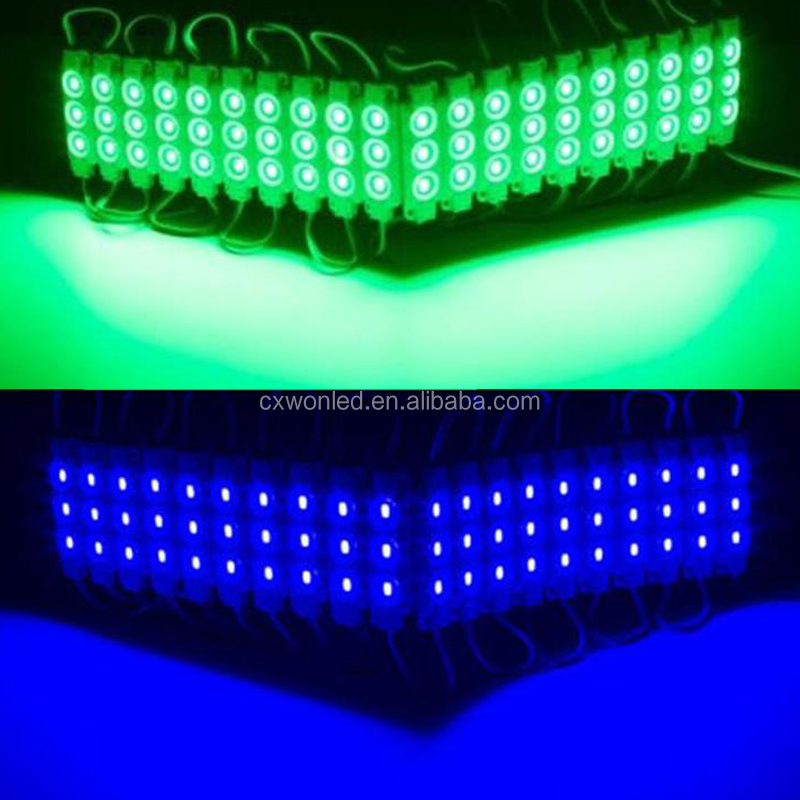 12V Waterproof 3 Led Module 5730 Injection Led Module Light