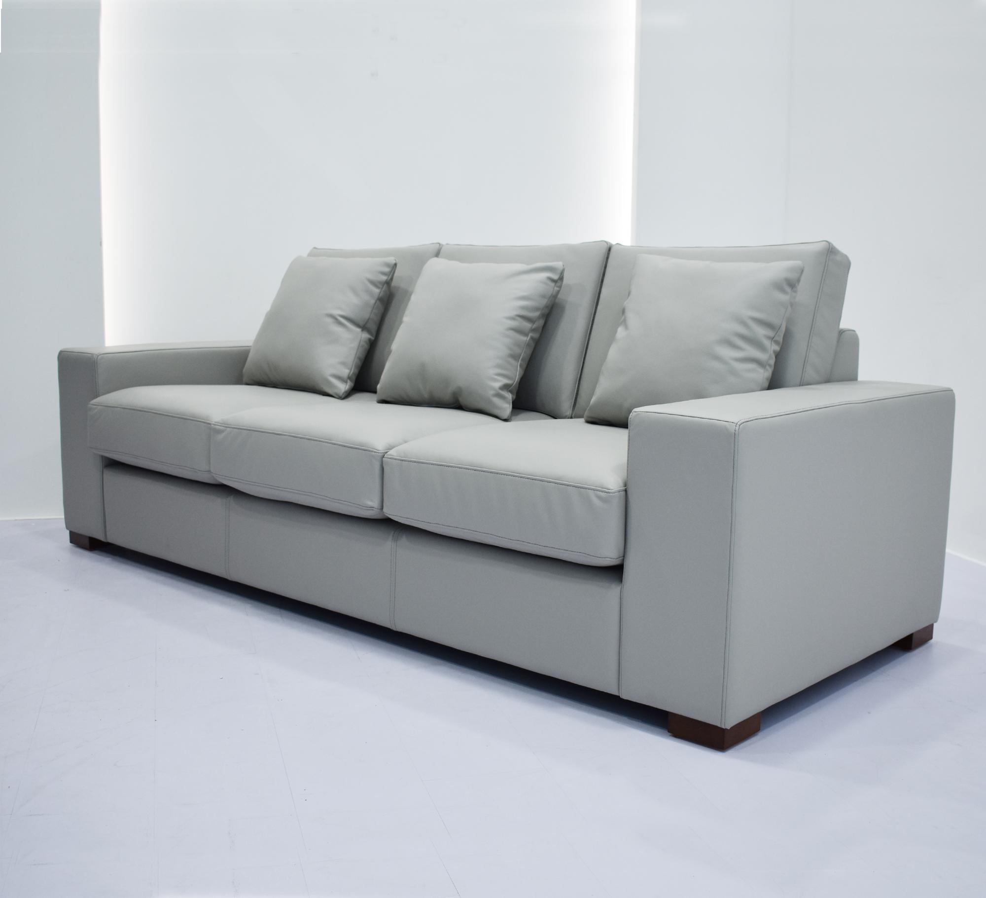 Big 3 Seater Leather Sofa Design 6162-3# - Buy Andrew Sofa,Aniline ...