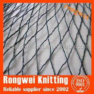 warp knitted HDPE plastic bird netting