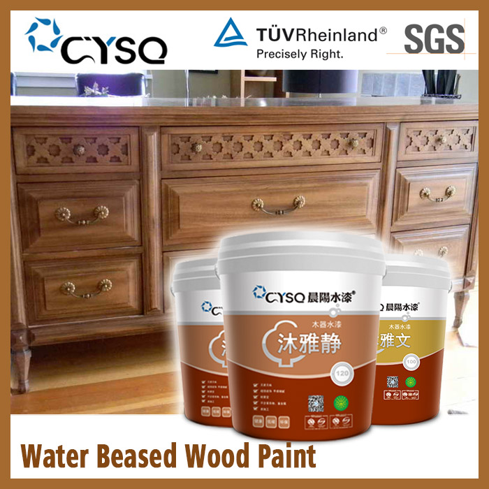 CYSQ Water Based furniture with deco paint