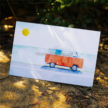 Customized Elegant Sale Personalised Paper Printing Postcard with Glossy Lamination