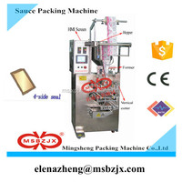 High efficiency JX021Automatic ketchup sauce sachet filling and packing machine