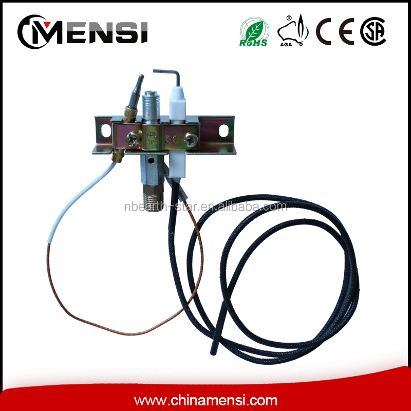 universal pilot burner with thermocouple