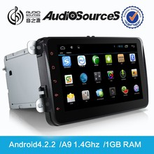 car multimedia system for volkswagen caddy android car gps navigation with bluetooth OPS IPAS 3G TV HD video 1080p radio