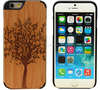 2016 new gadgets bamboo wood phone case wooden cell phone case for iphone7 case
