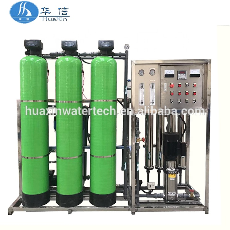 Full automatic borehole water treatment / salt water purification <strong>system</strong> / ground well water purifying