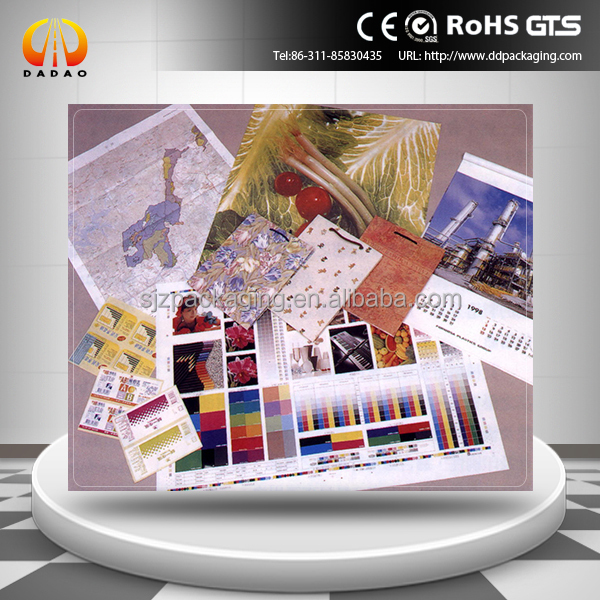 210gsm water based dye Backlit PET film