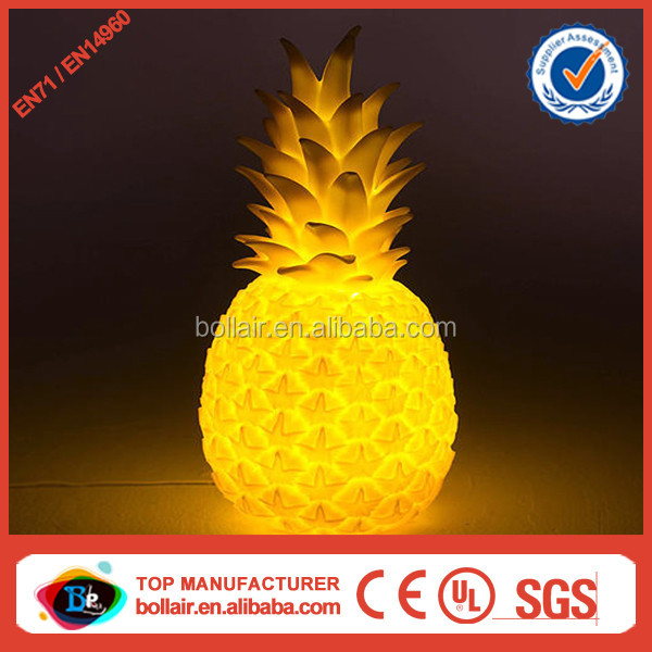 Wholesale price promotion lighting giant inflatable pineapple