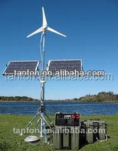 2015 China plc control variable pitch blade 100kw wind turbine generator