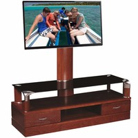 Chinese hot selling modern new design wooden lcd led tv stand unique tv stands