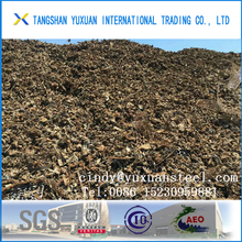 12500MT 210/211ISRI Steel Shredded Steel Scraps