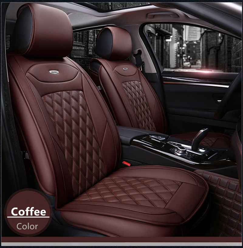 Stereo breathable leather all surrounded car seat cover for Chrysler 300C