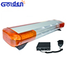 Tow truck emergency flashing warning bar used led amber light with siren for security vehichels