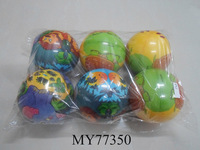 Promotional soft anti stress pu balls Round stress ball toy for children