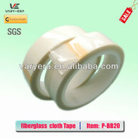Double sided fiberglass cloth tape