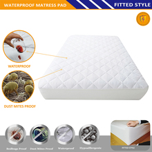 WATERPROOF MICROFIBER QUILTED MATTRESS PROTECTOR