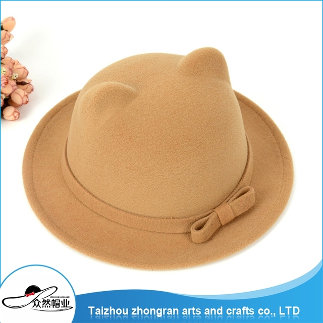 Competitive Price Directly Men'S Wool Felt Hat Wool Felt Floppy Hat