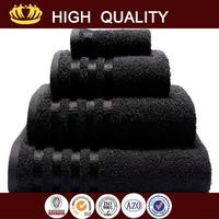 New design combed cotton terry towel with low price