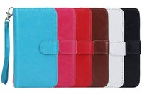 Wholesale Luxury PU Leather Card Wallet Case Cover for Samsung Galaxy S5