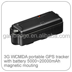 Long life battery GPS tracking device, battery powered vehicle tracker